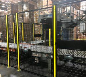 Safety Fence Machine Guarding Conveyors White Plains