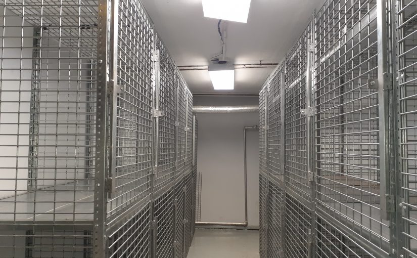 Tenant Storage Cages NYC 10016
