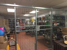 wire partition cages NJ