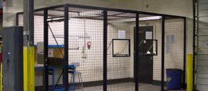 Warehouse entrance cage NJ