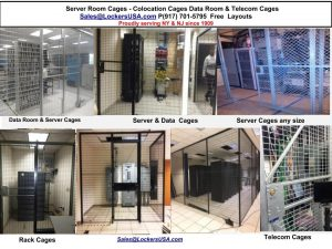 Server rack cages NYC