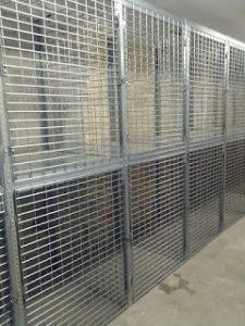 Welded Wire Lockers New Jersey