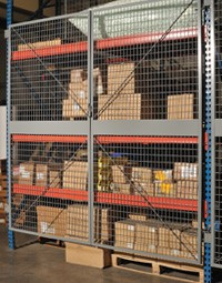 Pallet Racking Cage Doors New Jersey